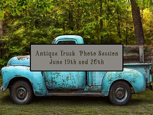 June 20th Antique Truck Session