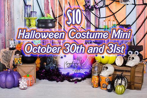 Oct. 30thHalloween Costume Mini