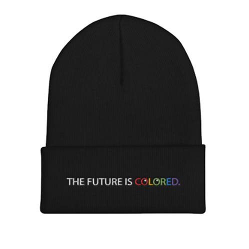 """FUTURE IS COLORED """"Beanie"""""""