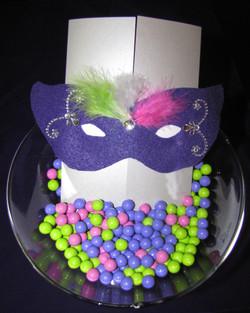 Sweet 16 masquerade theme program