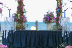 Wedding oceanside ceremony
