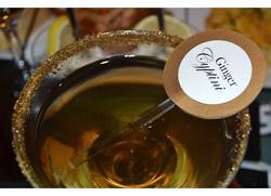 Gold Rim Signature Drink Stirrer