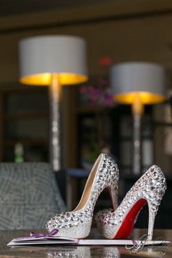 Wedding detailed shot- shoes