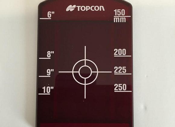 Topcon Pipe Laser Short Target