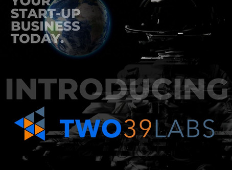 TWO39 LABS 12-Week Program designed to support startups is set to launch on September 14th.