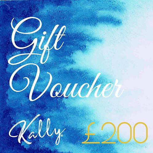 Gift Voucher £200