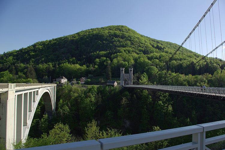 Bridges Allonzier la Caille
