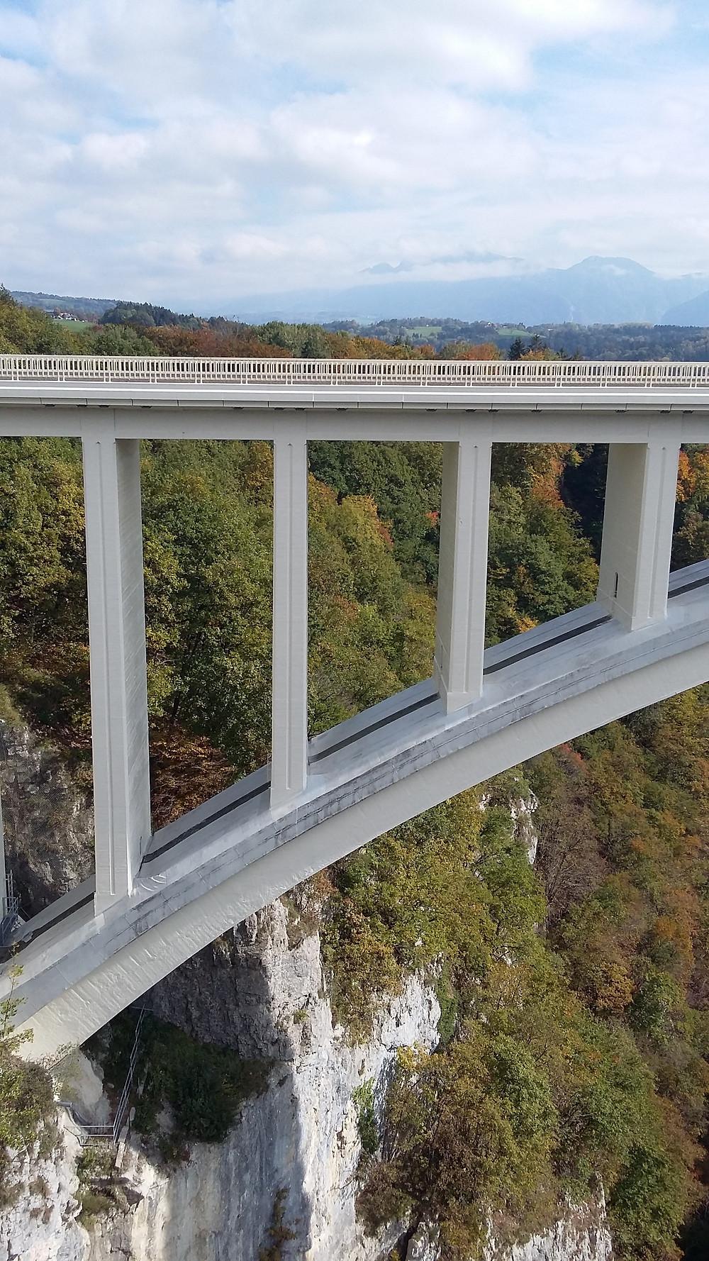 New bridge allonzier la caille