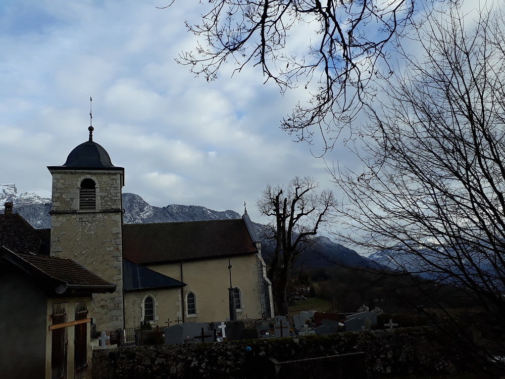 st germain church talloires
