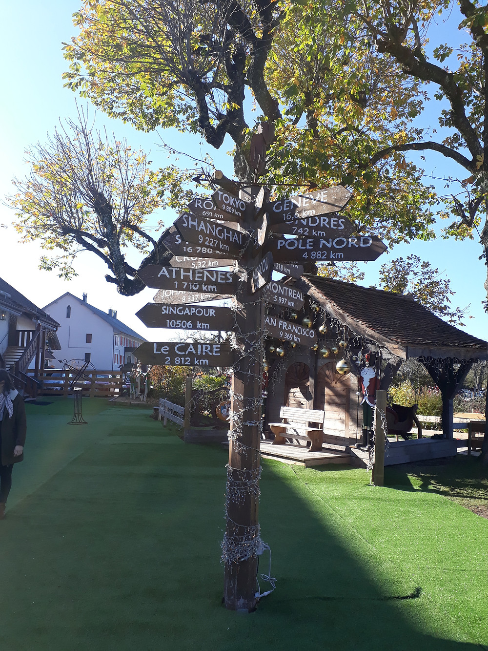 village pere noel annecy