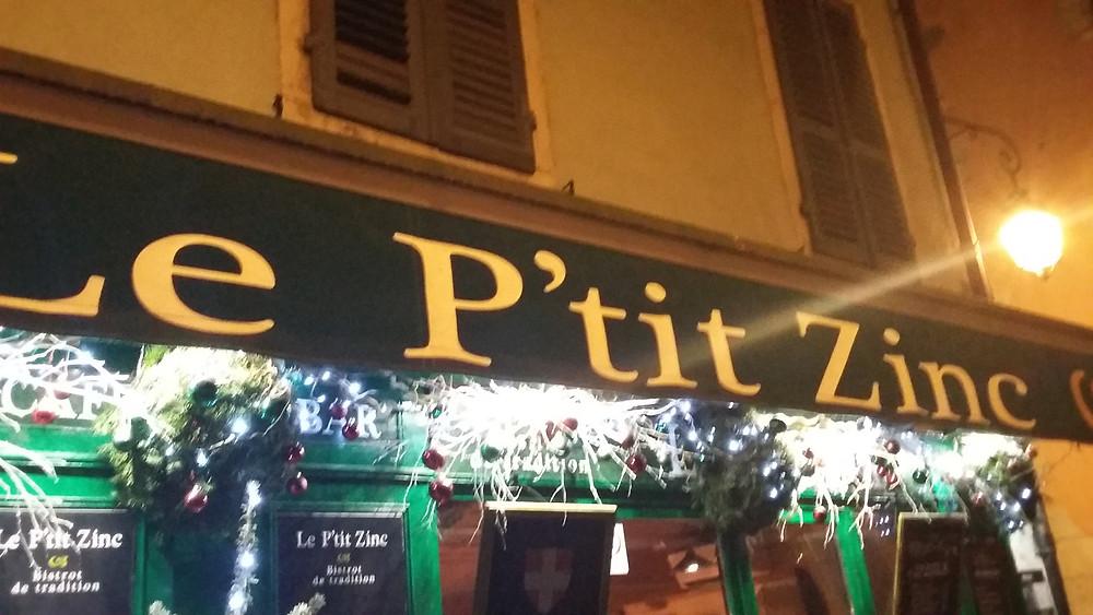 P'tit Zinc restaurant Annecy