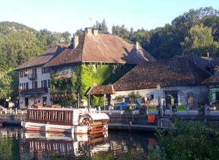 Romantic Diner in Chanaz (Savoie)