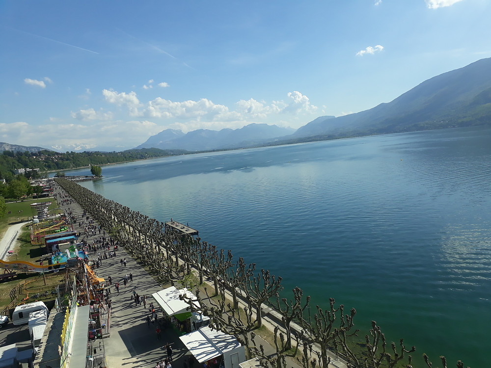 bourget lake aix