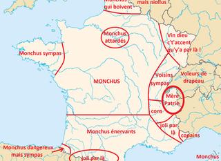 Map according to Savoyards