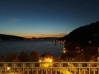 Night Photos from the Palace Menthon St Bernard