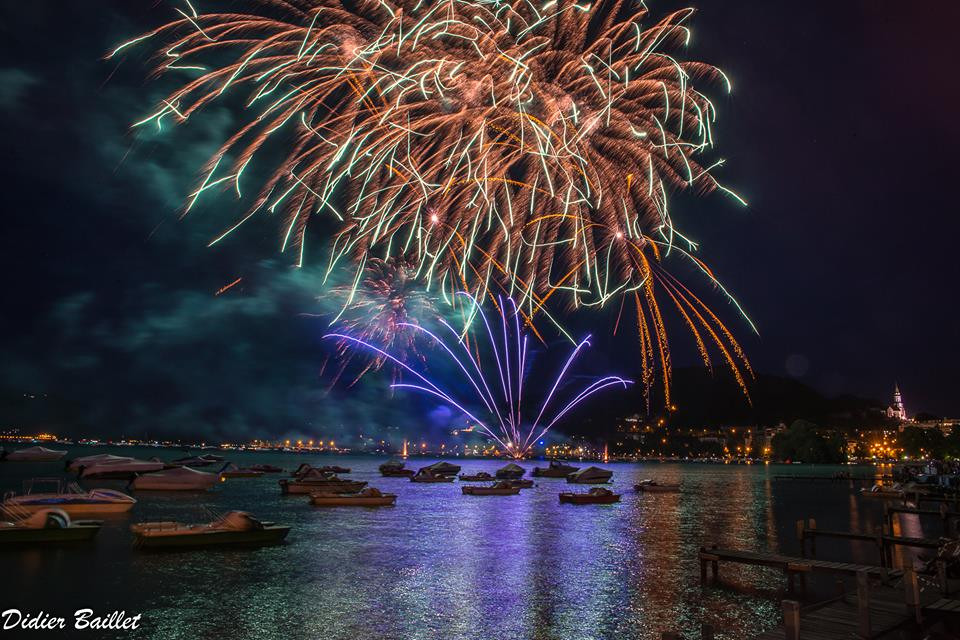 Fireworks Annecy