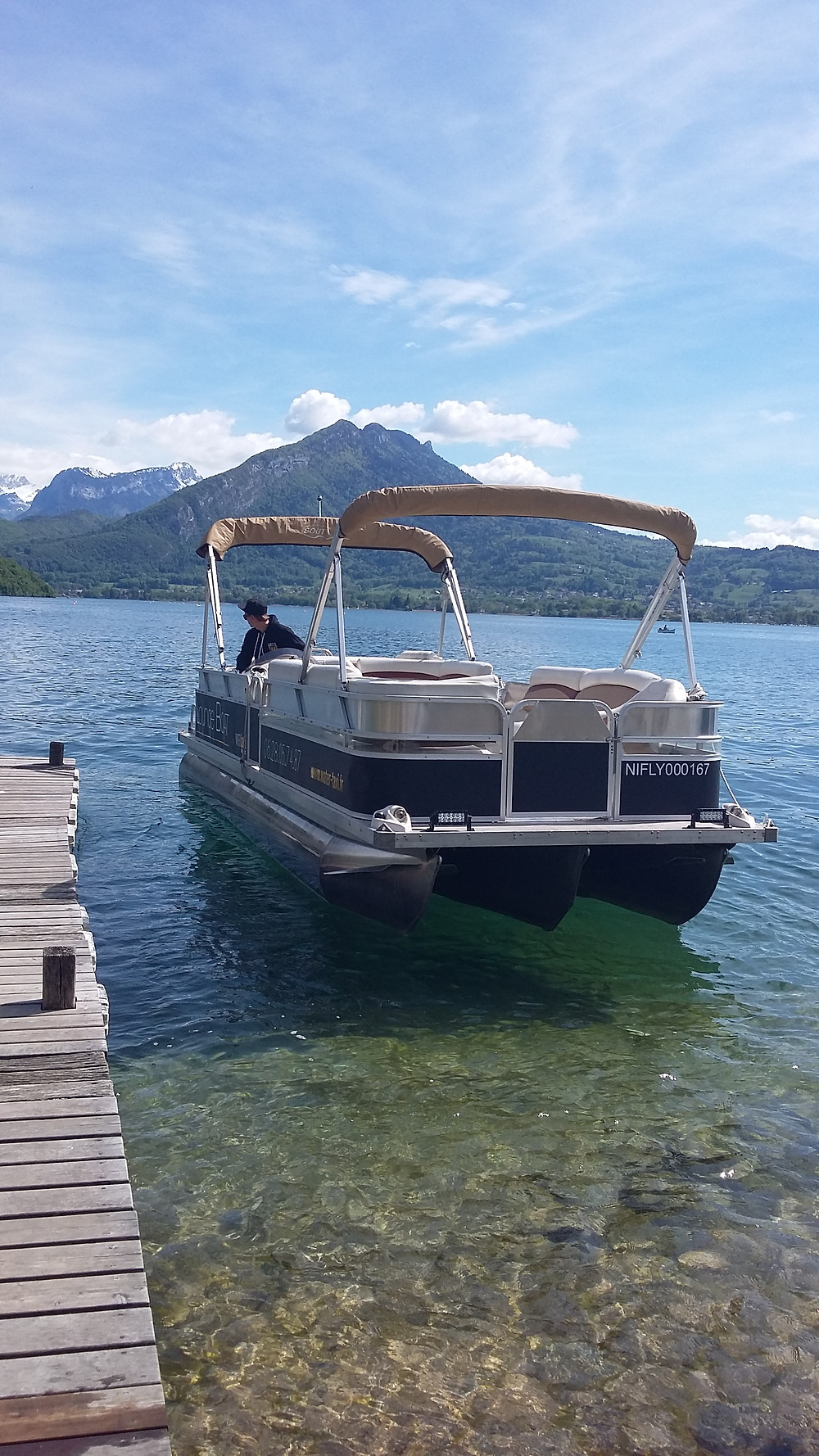 watertaxi annecy