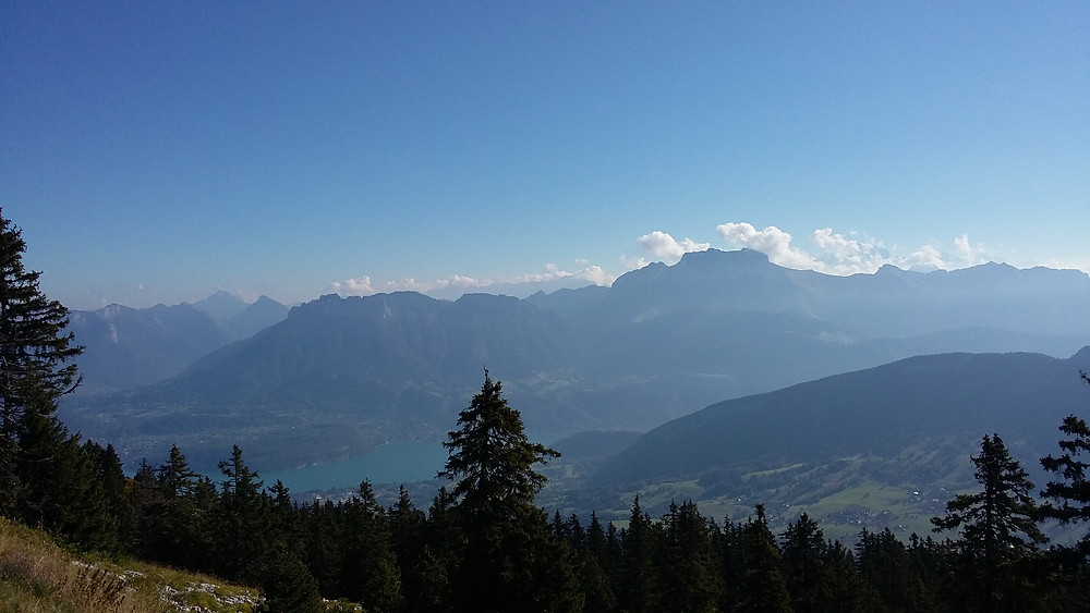 view from Semnoz