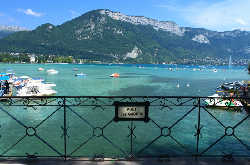Lovers' Bridge Annecy