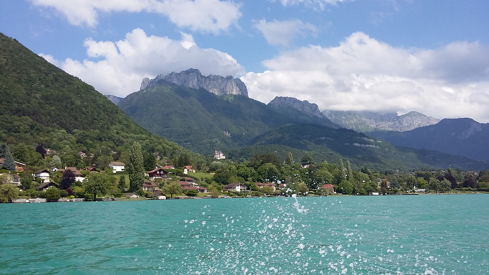 photo of Tournette Mountain and Lake Annecy