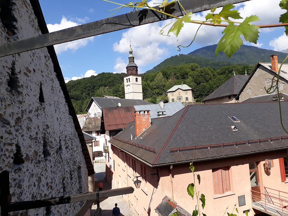 conflans medieval village