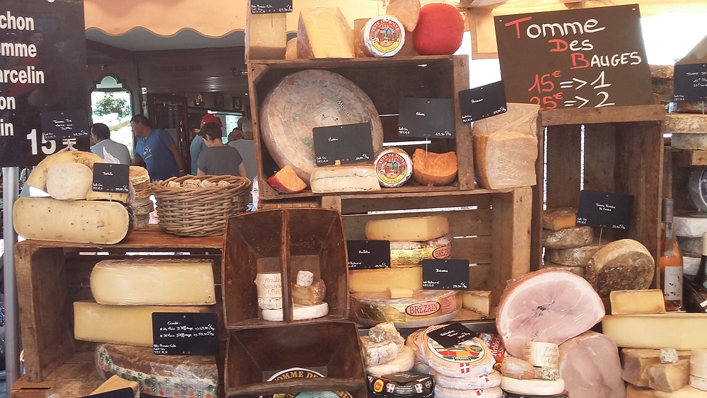cheese market Annecy