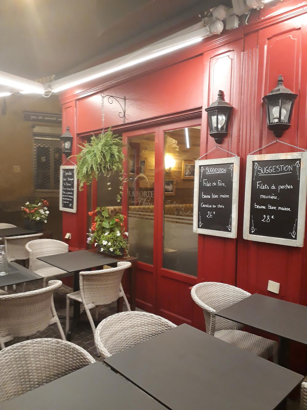 porte sainte claire restaurant annecy