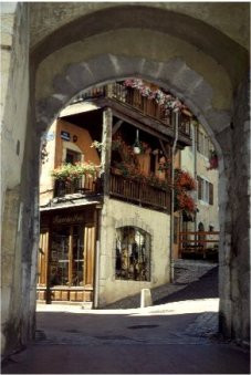 Perriere door in Annecy old Town