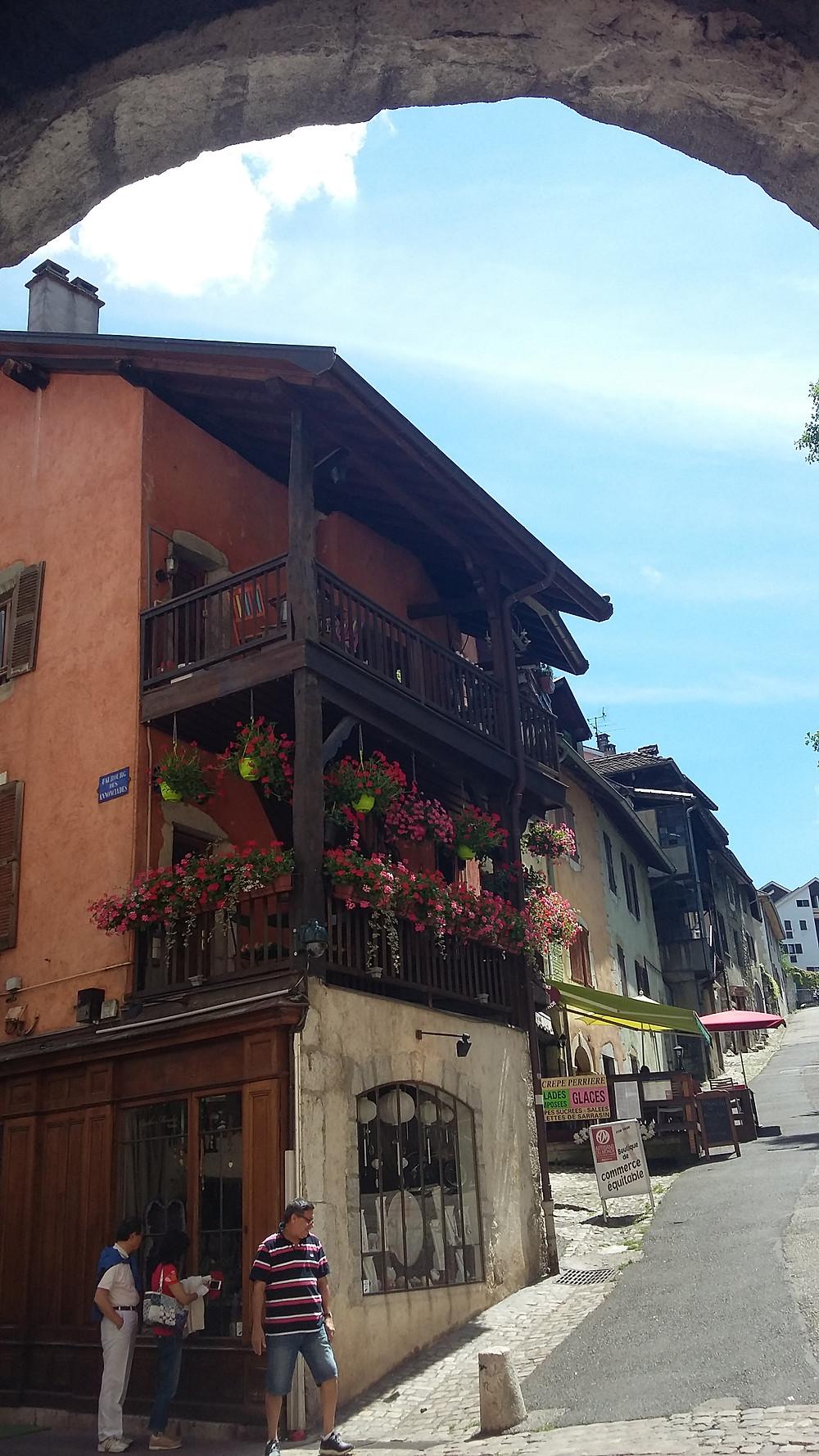 Perrière door in Old Town Annecy