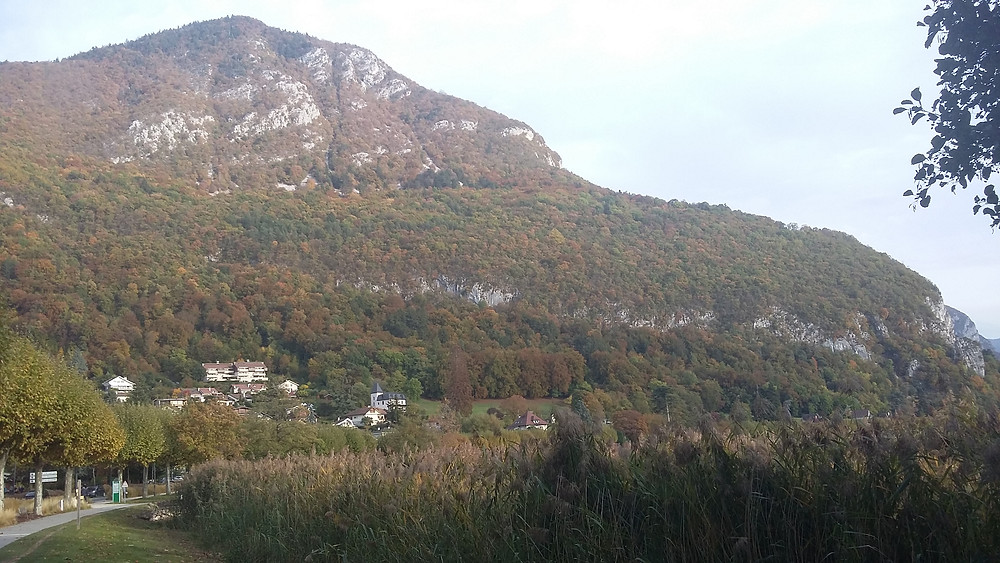Mont Veyrier in the fall