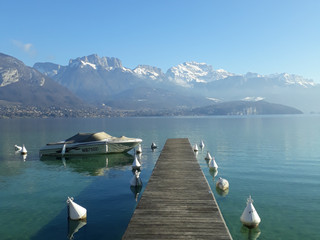 Winter Lake Annecy