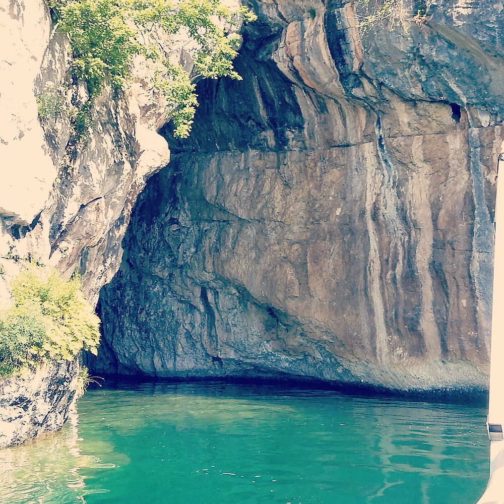 Grotto Lake Annecy