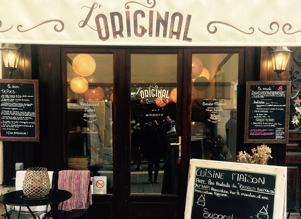 Original restaurant Annecy