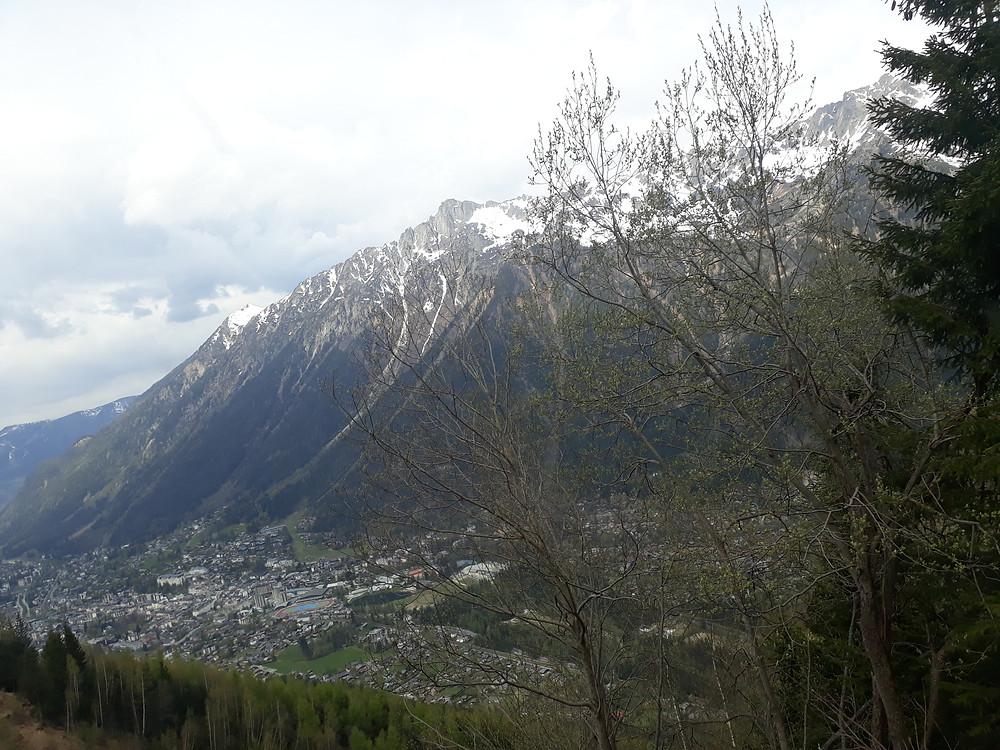 view of chamonix