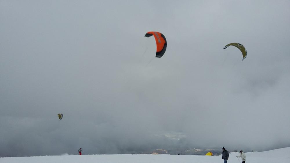 Paragliding Semnoz