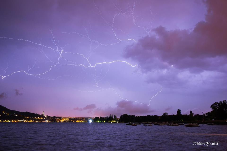 Thunderstorms Annecy