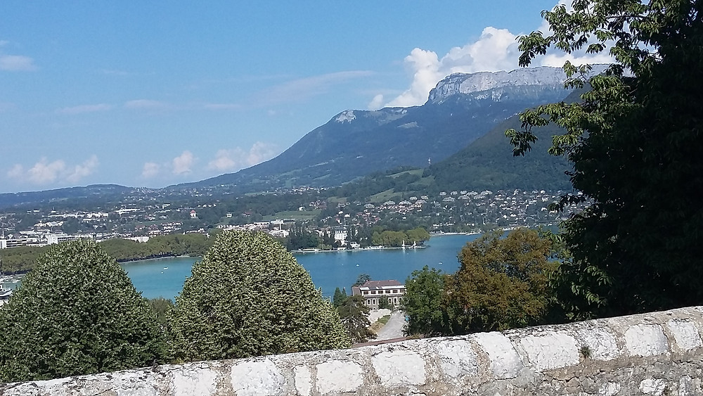 view from Visitation Annecy