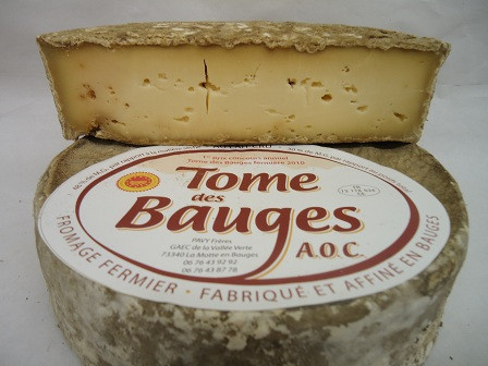 Bauges Tome cheese