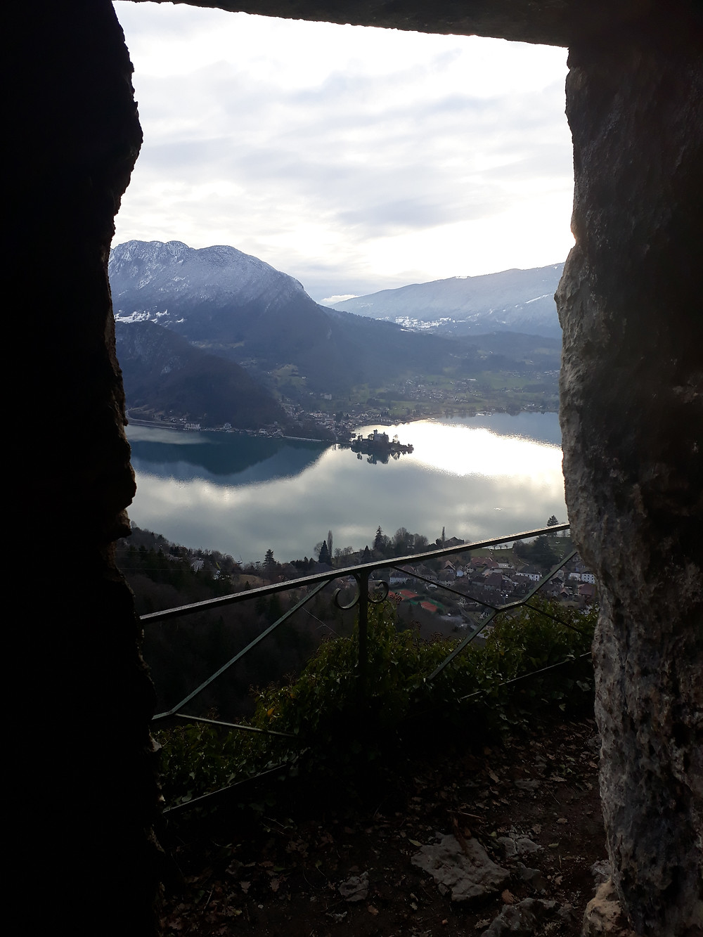 view from cave talloires
