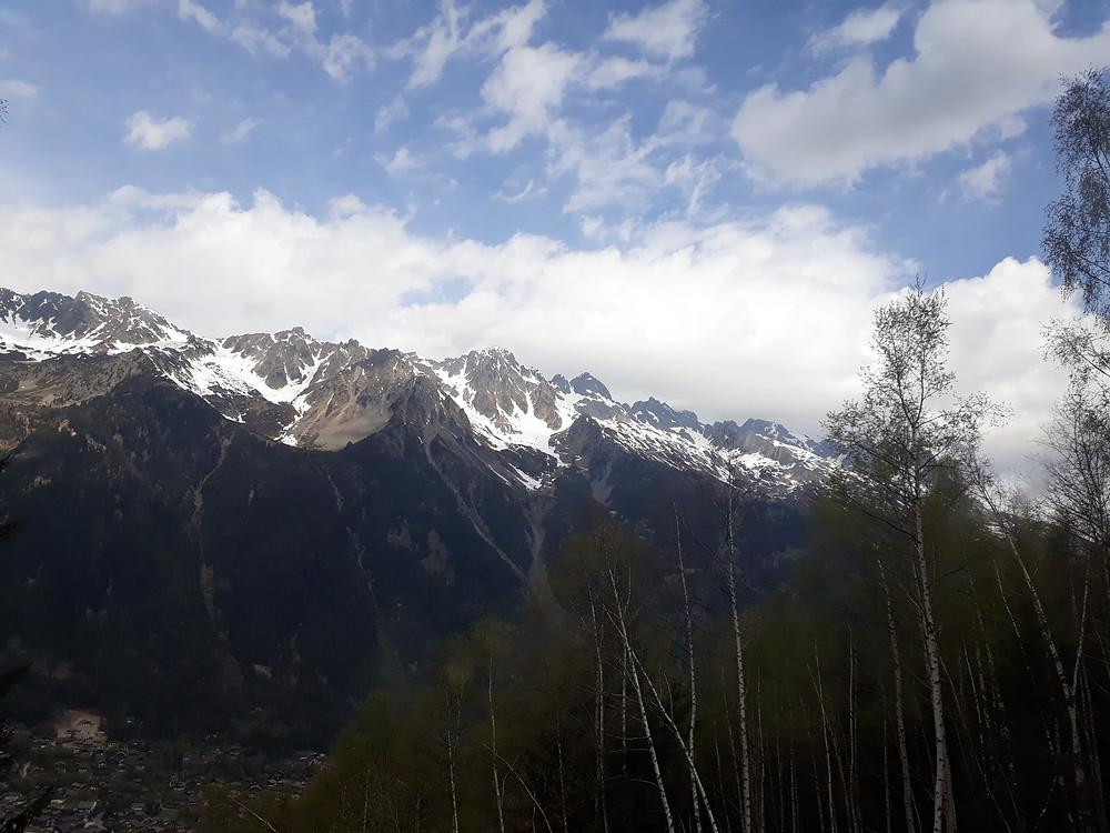 chamonix view