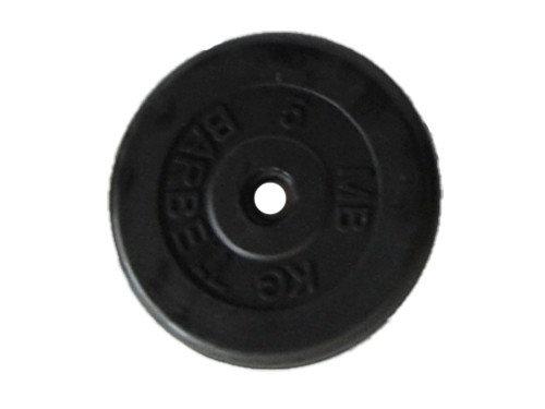 диск для штанги 5кг пластик