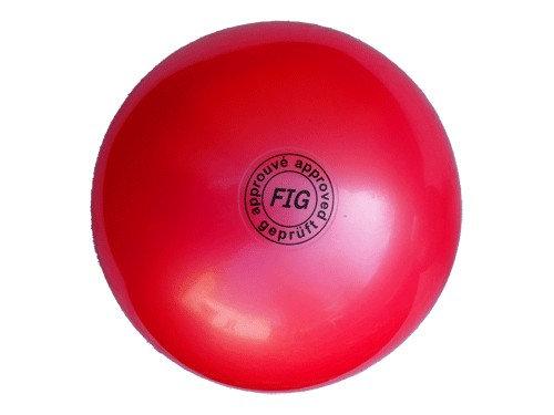 Мяч для художественной гимнастики профи красный