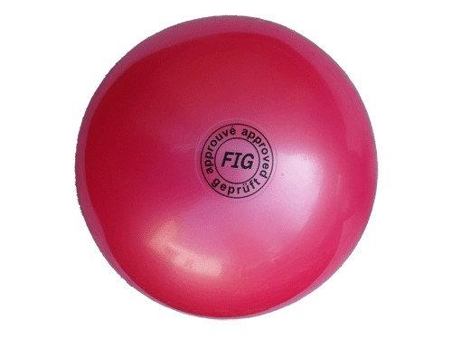 Мяч для художественной гимнастики профи розовый