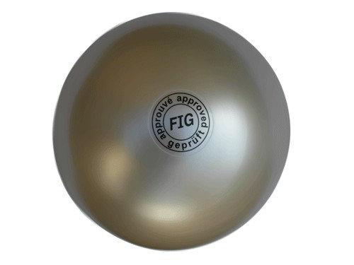 Мяч для художественной гимнастики профи белый