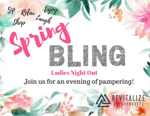 Spring Bling information for the ladies involved