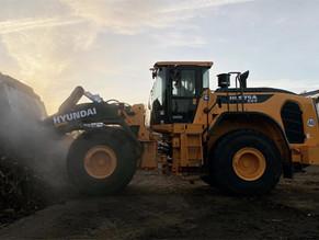 יונדאי ציוד מכני הנדסי חשפה את ה- HL975A CVT החדש שלה.