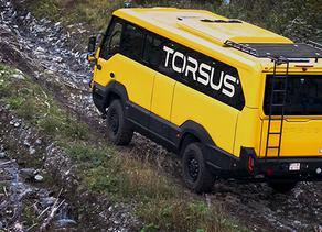 TORSUS Offroad  אוטובוס השטח הראשון בעולם