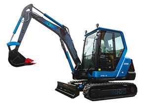 קמינס, יחד עם XCMG, עיצבו וייצרו מחפר חשמלי 3.5 טון.