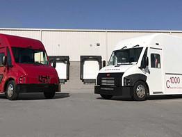 """הזמנת """"ענק"""" של Workhorse משאיות חשמליות."""