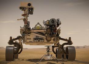 הצוות החדש של נאסא בדרך למאדים.